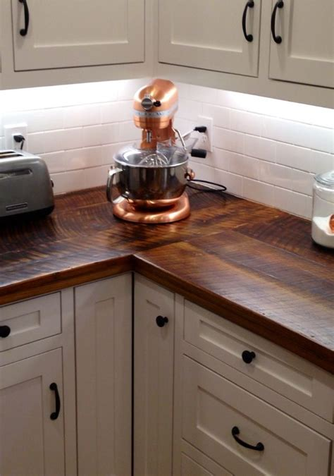 diy kitchen countertop ideas 15 awesome diy wood countertops style decorating ideas