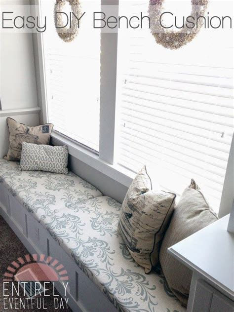 how to make bench cushions easy 25 best ideas about window seat cushions on pinterest