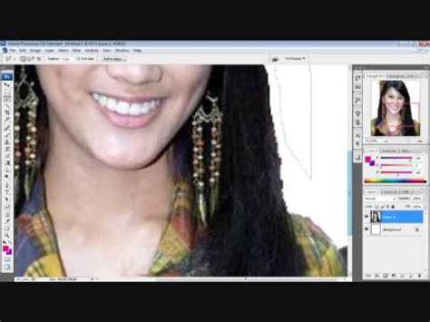tutorial crop gambar guna photoshop tutorial memotong crop gambar dengan quick selection