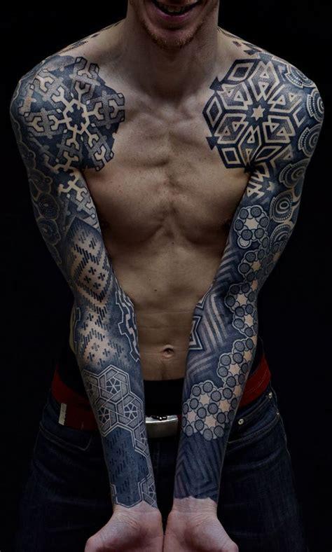 tattoo hand sleeve amazing both hands blackwork tattoo sleeve best tattoo