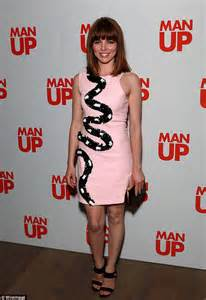 film man up online ophelia lovibond joins cast members for london premiere of