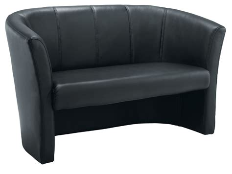 Leather Tub Sofa Tub Sofa Leather Look