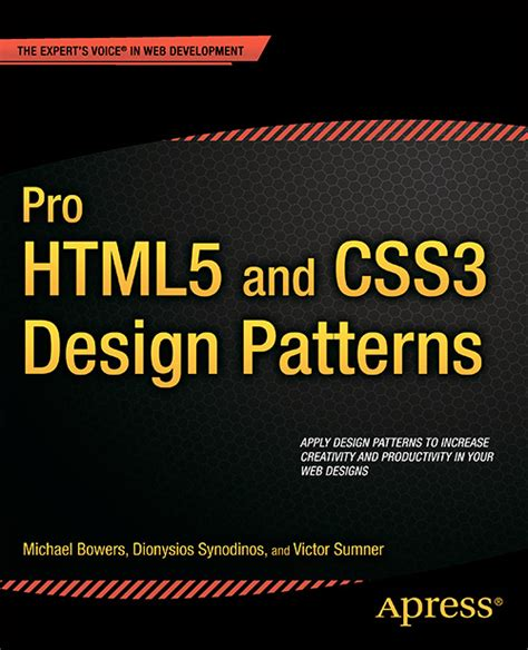 design pattern html5 css3 the missing manual third edition