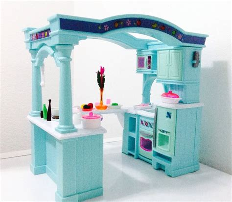 barbie doll house kit dollhouse doll furniture barbie size room playset toy house kitchen set kit lot ebay