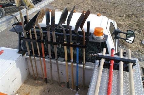 Shovel Rack For Truck by 25 Best Ideas About Tool Boxes For Trucks On