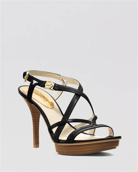 michael kors high heel sandals michael michael kors open toe platform sandals cicely high