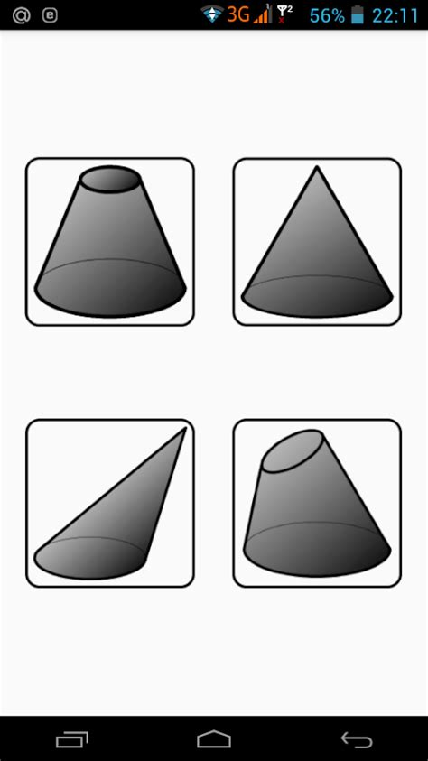 Flat pattern cone. 1.9 APK Download - Android Productivity