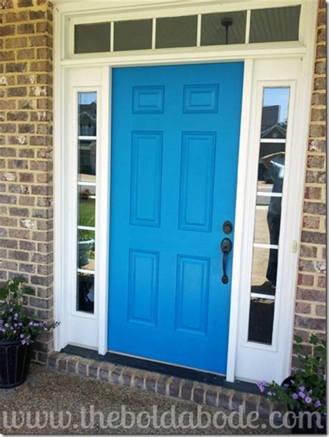 10 Ways To Shake Up Your Home And Make It Your Own Bold Front Door Colors