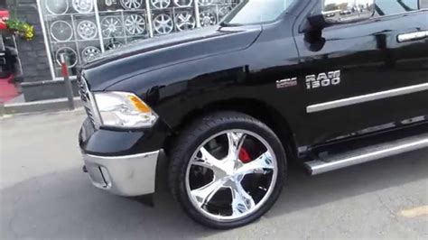 big truck with chrysler rims hillyard rim lions 2014 dodge ram big horn with 24 inch
