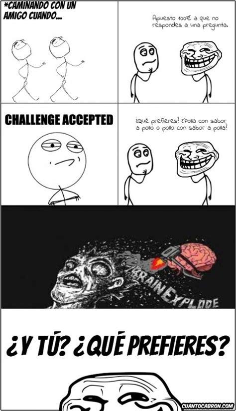 imagenes de memes troll en español hackear y sorprender tu cerebro explosion mental