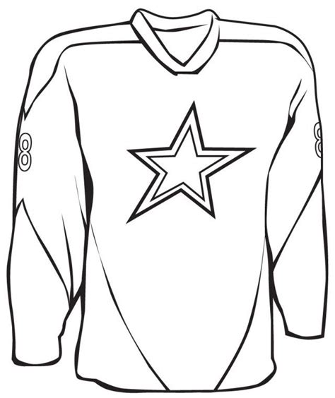 football jersey coloring page az coloring pages
