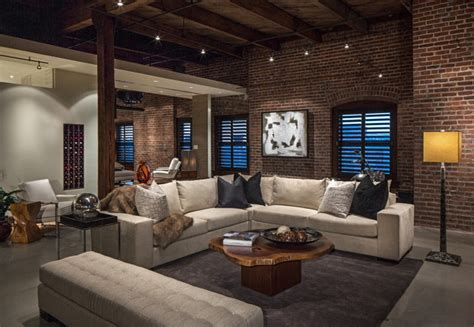 Living Room Designes by 16 Spectacular Industrial Living Room Interior Designs