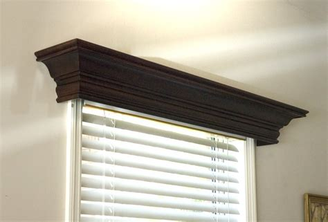 Wood Valance Box beautiful wood window cornices design the space