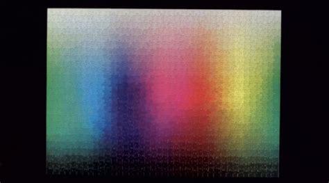 cmyk puzzle 5000 cmykの色領域を再現 5000ピースからなるパズル 5 000 colors puzzle