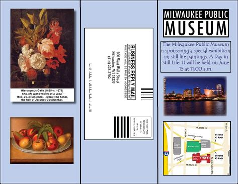 Desktop Publishing: Art Museum Brochure Outside