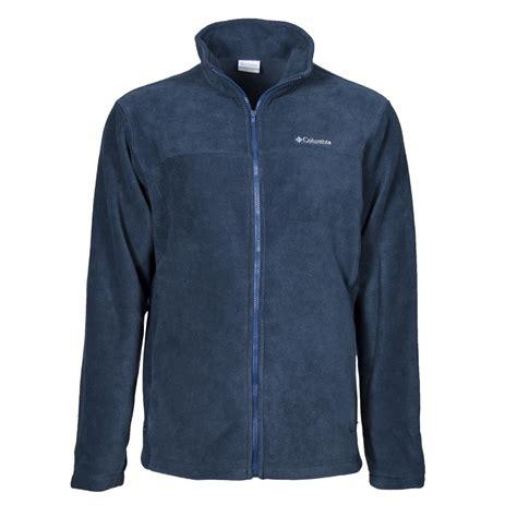 Polar Fleece Zip Jacket s columbia polar fleece zip front two pocket jacket ebay