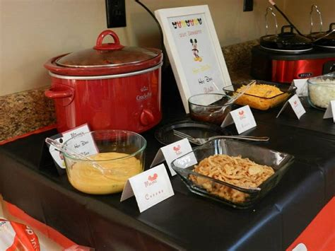hot dog toppings bar 26 best logan s mickey mouse clubhouse 1st birthday images