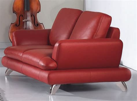 Modern Leather Loveseats european contemporary style leather loveseat prime classic design modern italian and