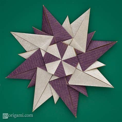 Rosa De Origami - rosa dei venti by paolo bascetta modular origami