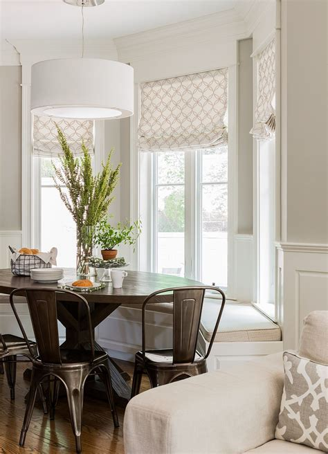 dining nook  stephanie sabbe bay window benches