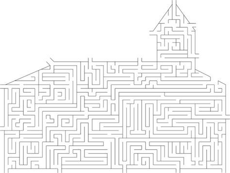 printable lds mazes a church maze
