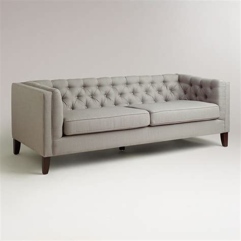 fog kendall sofa modern sofas by cost plus world market