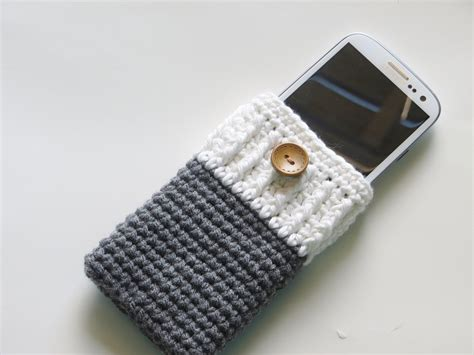 Pattern Html Telephone | crochet dreamz mobile phone cozy or case crochet pattern