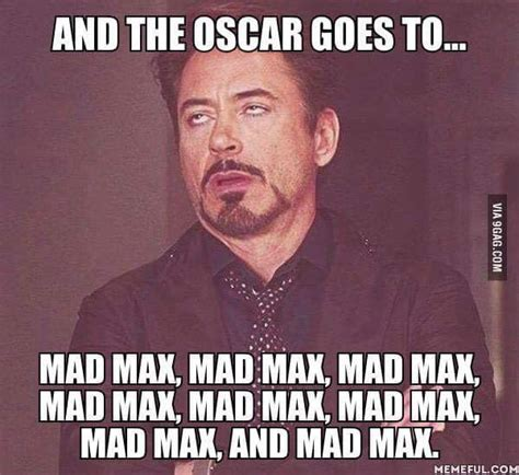 Max Meme - the best mad max oscars memes