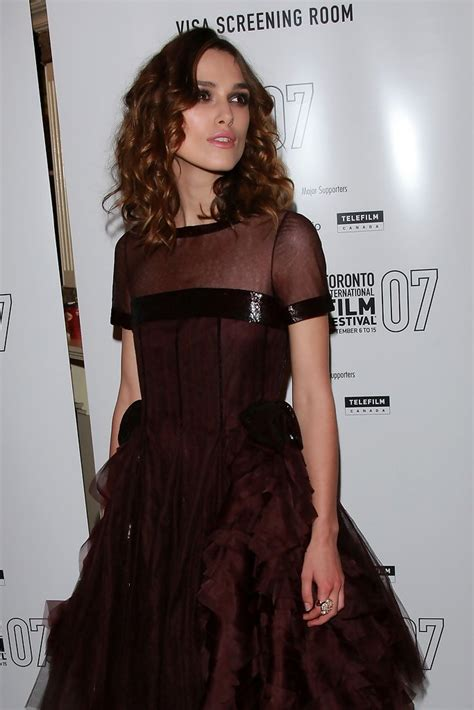 Keira Knightly In Chanel At Tiff For Atonement Premiere In Canada by Keira Knightley In Quot Atonement Quot Tiff Premiere Zimbio