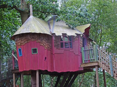 Cool Treehouses Bewilderwood Treehouse Spencer Wright Flickr