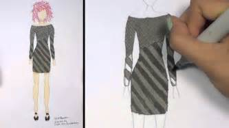 how to draw clothes for beginners fashion designing black