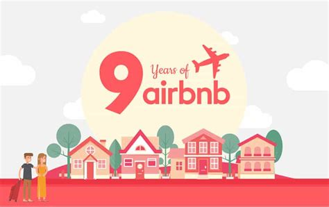 airbnb what is it 9 years of airbnb infographic