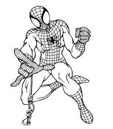 free coloring pages spider man