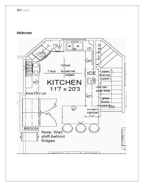 Kitchen Layout Drawing at GetDrawings.com   Free for