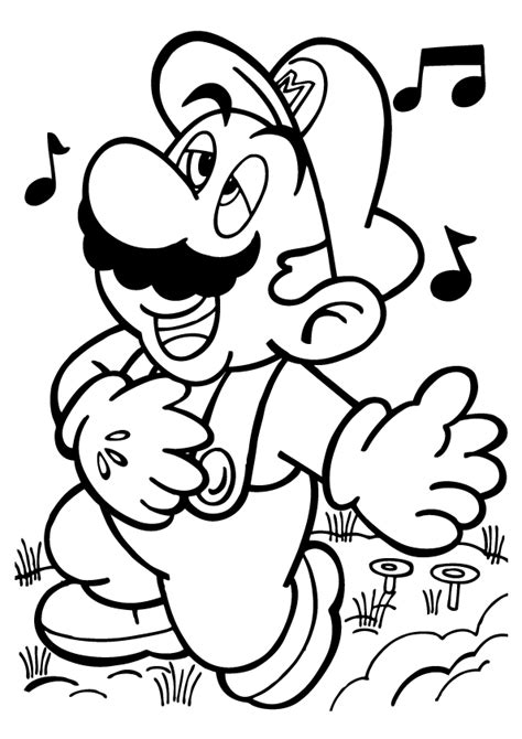 Free Printable Mario Coloring Pages For Kids Mario Bros Coloring Pages Printables