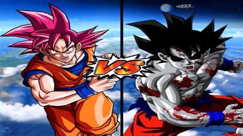 varias imagenes de goku dbz bt3 version latino goku ssj dios vs goku zombie