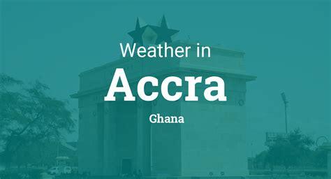 weather  accra ghana