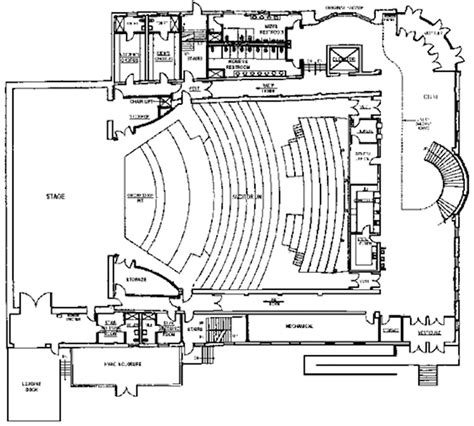 theatre floor plans orpheum theatre floor plan 4 best free home design