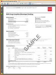 bank statement template bank statement template hsbc exle output png