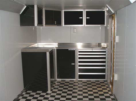 new favorite trailer cabinets enclosed trailer accessories