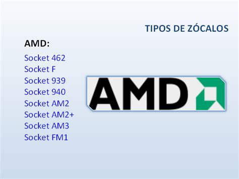 Aneka Proc Amd Socket Am2 Am2 Am3 Fm1 Fm2 Seken hardware procesadores monografias