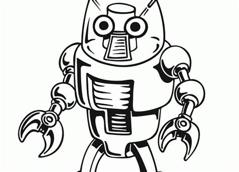 robot cat coloring page free robot cat coloring pages
