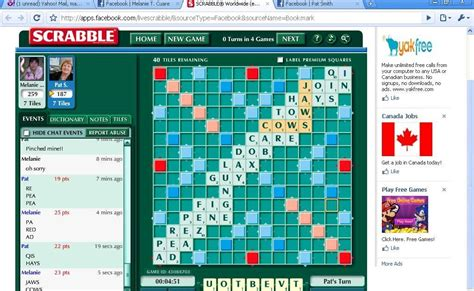 scrabble will not load on scrabble and deathwhistler s notes