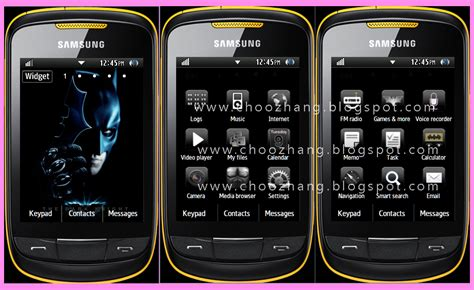 samsung mobile themes java free games for samsung corby 2 free software and