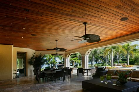 Outdoor Wood Ceiling Planks Synergy Cypress Premium Decking