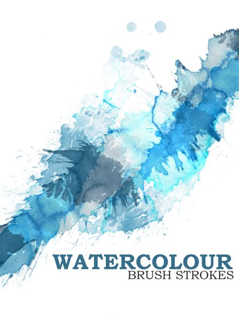 photoshop brushes 280 ultimate photoshop water colour brushes for free