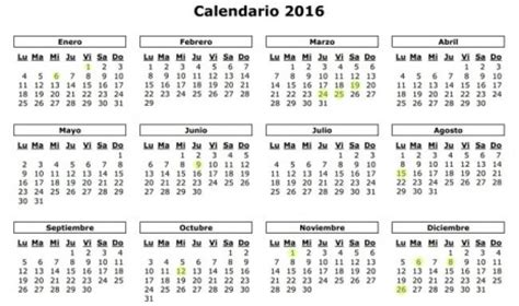 Calendario P 2016 Calendario 2016 Mes A Mes Calendario Puro Pelo