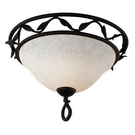 Matte Black Wrought Iron Ceiling Light Fixture Ebay Black Iron Ceiling Lights