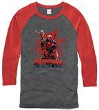 Kaos Deadpool Raglan Deadpool 16 apparel tshirt allposters ca