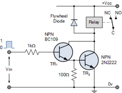 darlington transistor usage how to use a transistor as a relay quora
